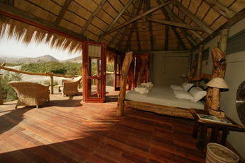 Serra Cafema Camp Bedroom - Wilderness Safaris