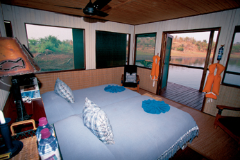 Matusadona Water Wilderness Bedroom