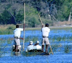 Botswana Fly-in-Safari; Sanctuary Lodges - Semi Customized